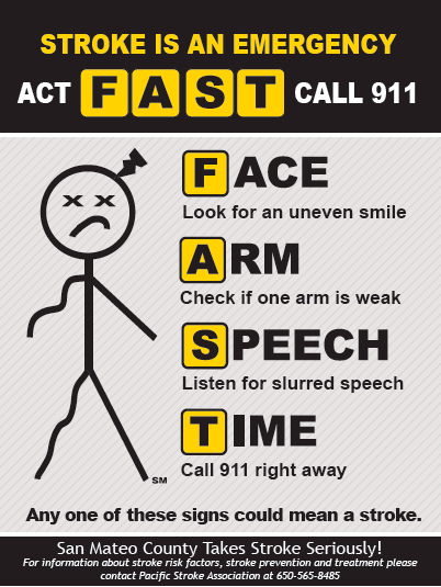 Stroke: Do You Know the Signs? - San Mateo County Health