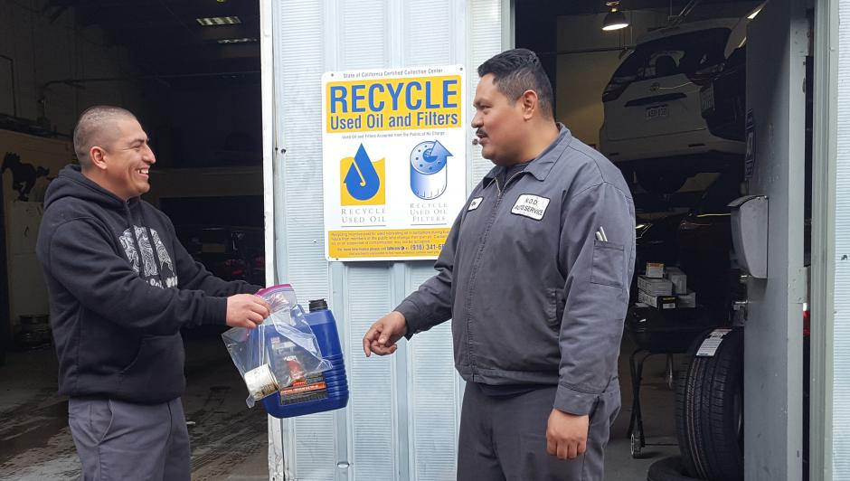 Waste Oil Disposal >> Safe Waste Disposal Used Oil And Filters San Mateo County Health