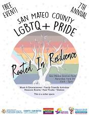 Pride event flyer