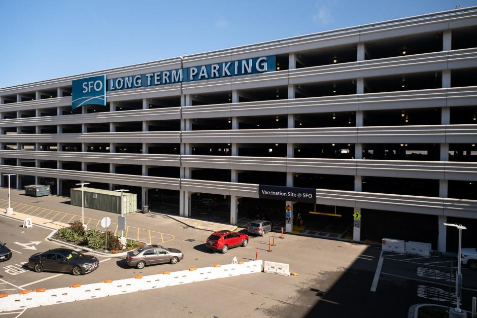 image of SFO Long Term Parking Garage