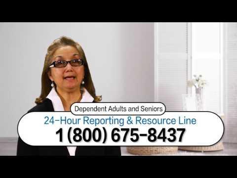 See, Stop, Prevent: Dependent & Older Adult Abuse