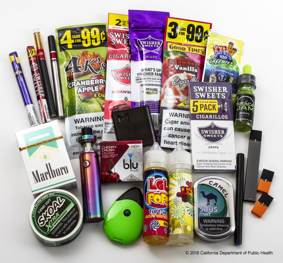 Examples of flavored tobacco products